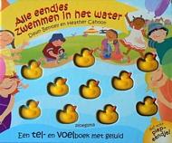 alle eendjes zwemmen in het water pluizer